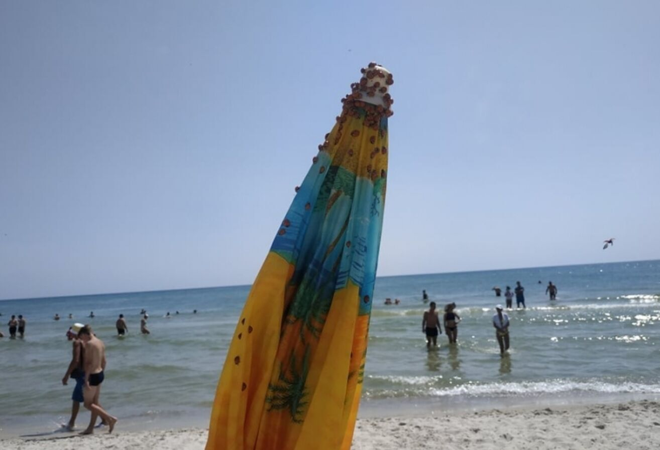Отдыхающим уходят с пляжей из-за божьих коровок.