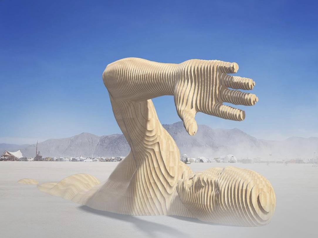 Арт-инсталляция Merman, которая будет представлять Украину в США.