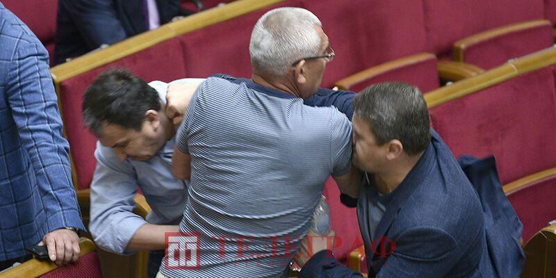 Бійка в парламенті