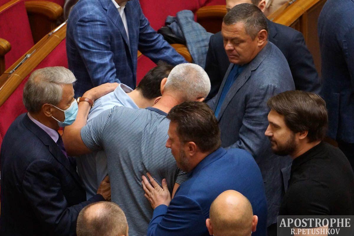 У Раді побилися Івченко й Сольський