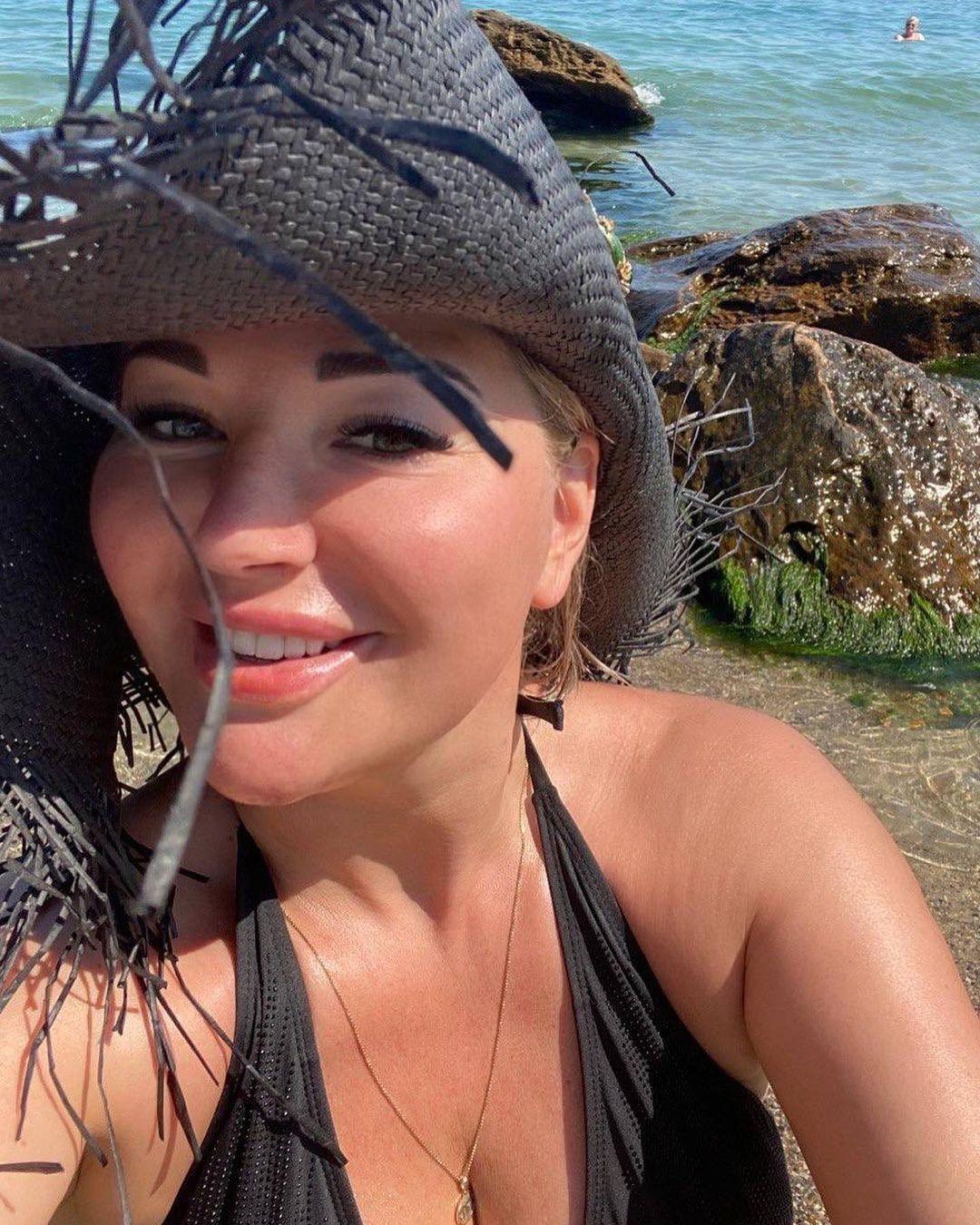 Марія Максакова відпочиває в Одесі
