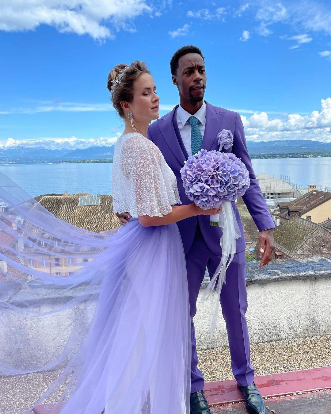 Світоліна та Монфіс одружилися.