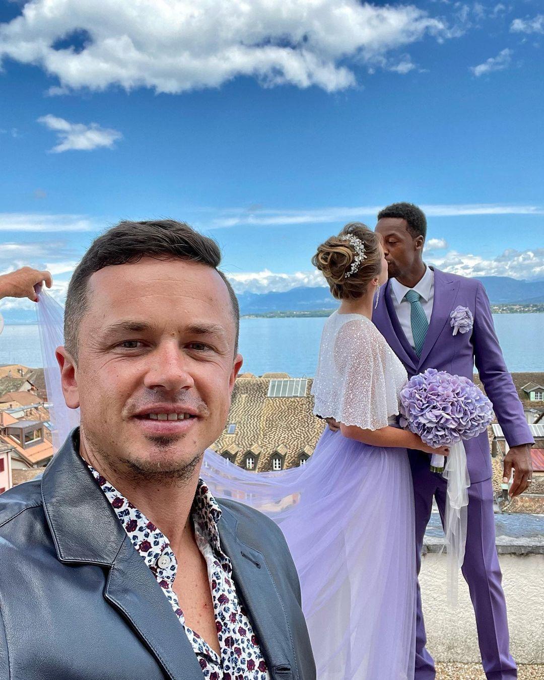Весілля Світоліної та Монфіса пройшло в Ньоні.