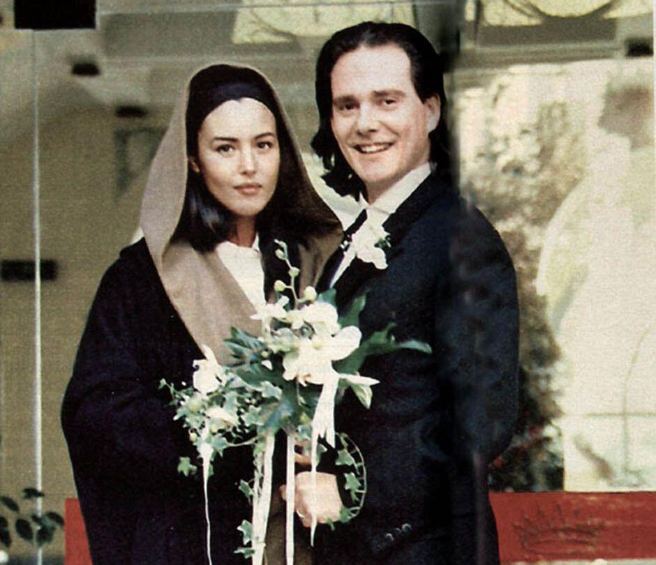 Свадьба Моники Беллуччи и Клаудио Карлоса Бассо, 1990 год