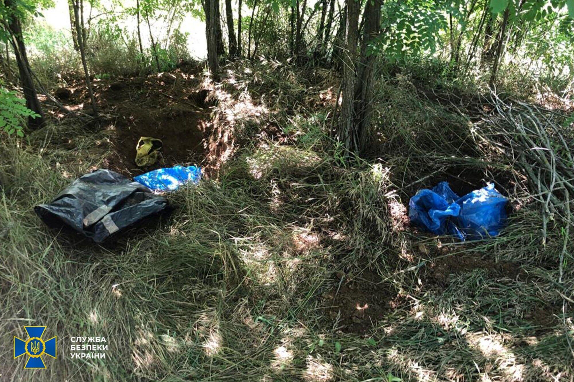 Схроны боеприпасов обнаружили на Одесщине и Запорожье