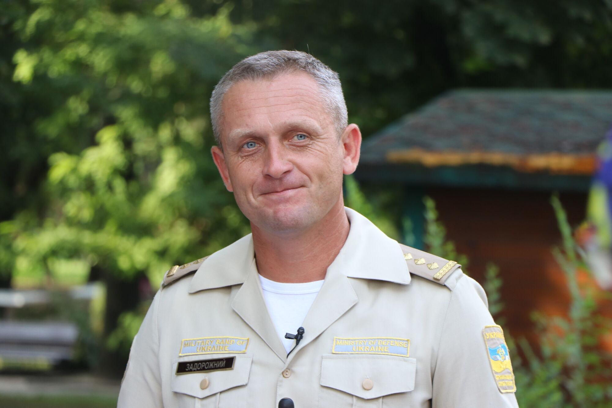 начальник оркестра Богдан Задорожный