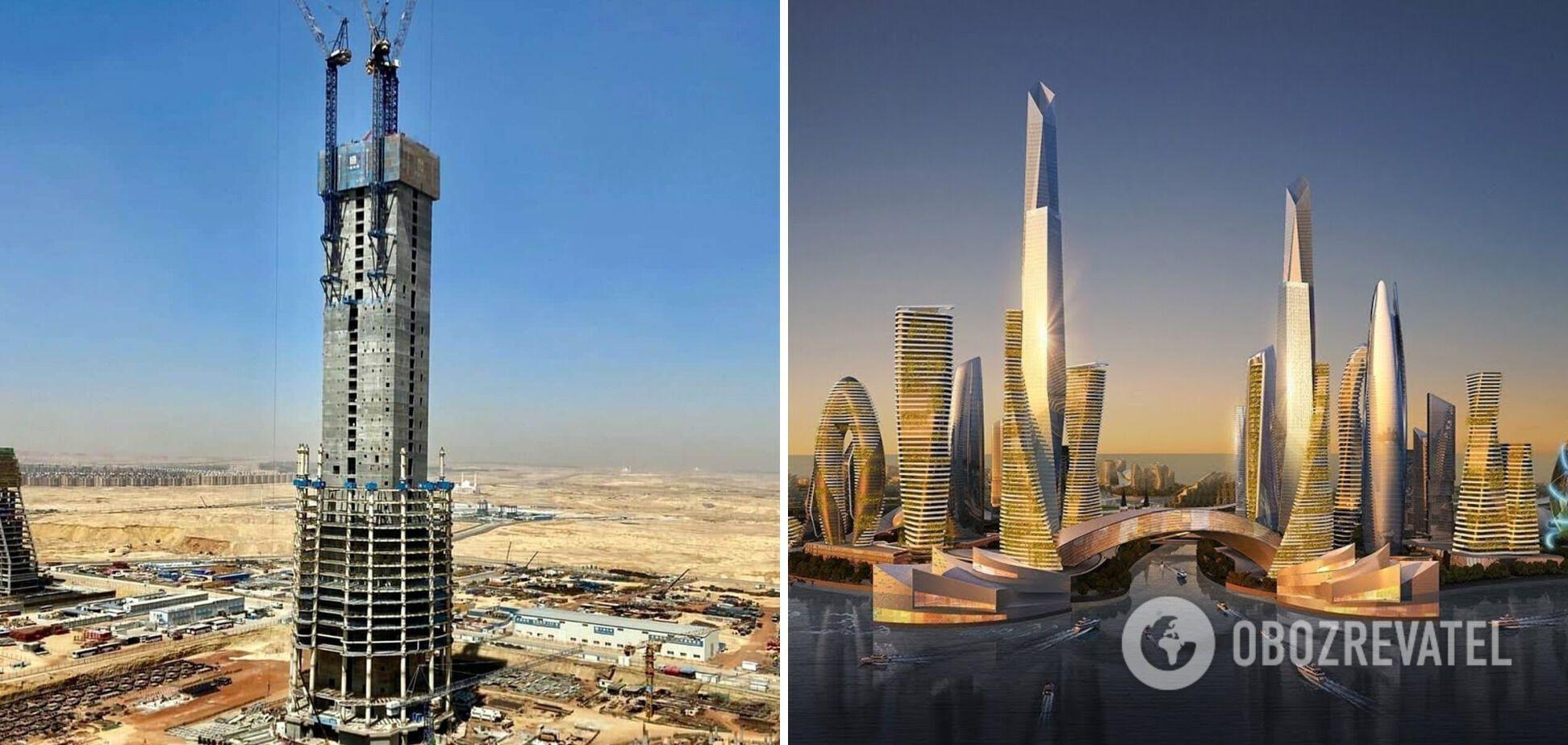 Iconic Tower вблизи Каира станет самым высоким зданием в Африке.