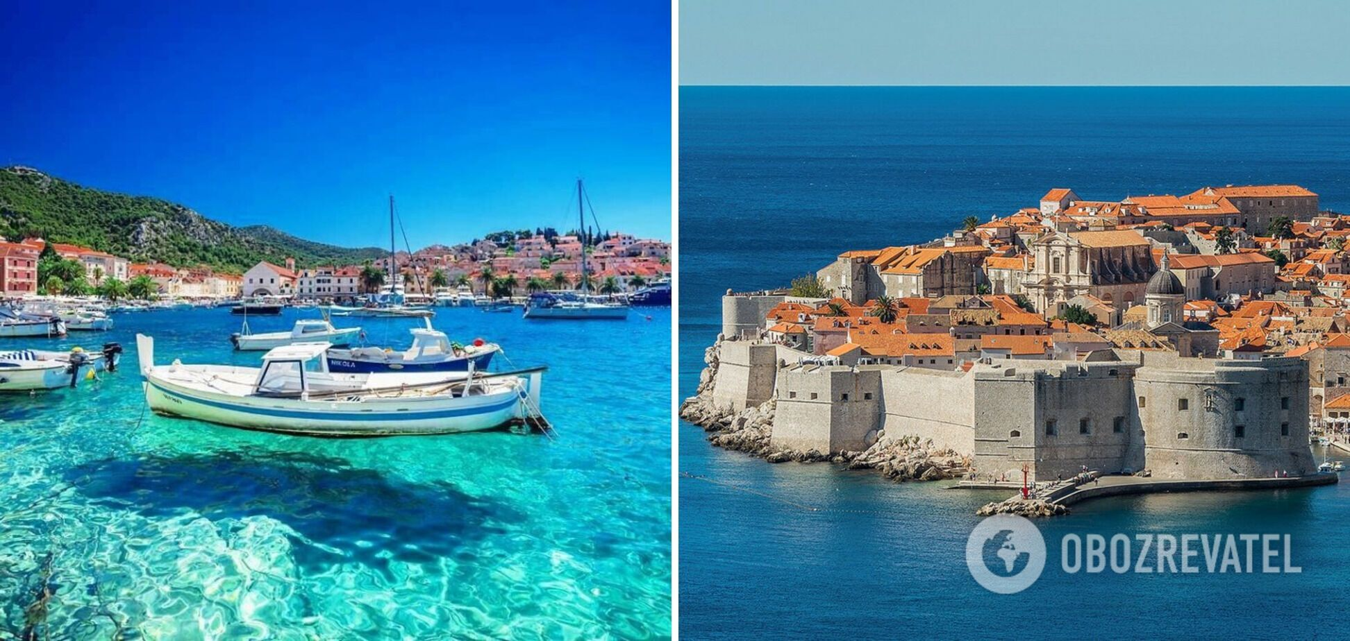 Украинцы могут путешествовать в Хорватию.