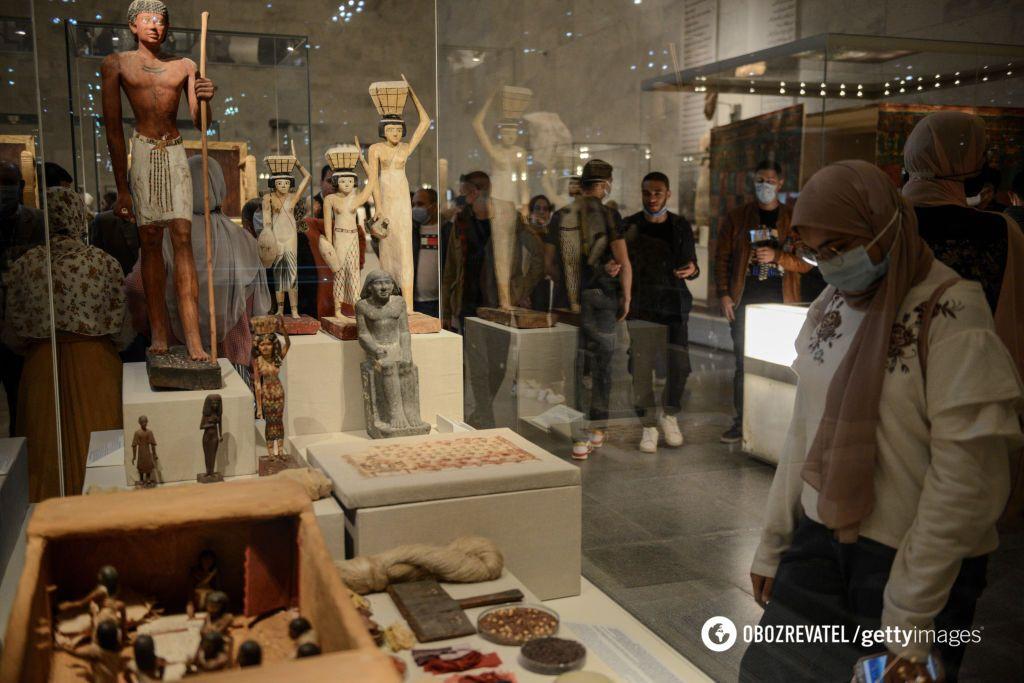 В Египетском музее цивилизации.