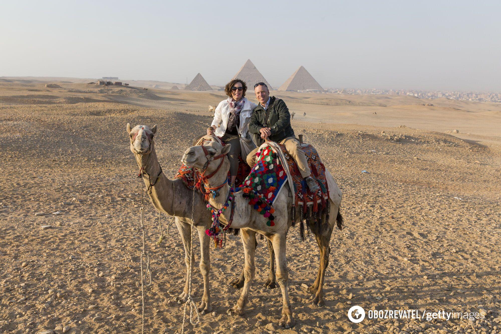 Поток туристов из Украины в Египет сократился.