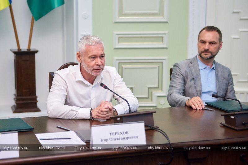 В мэрии Харькова подписали Меморандум о сотрудничестве между городским советом и Фондом развития предпринимательства