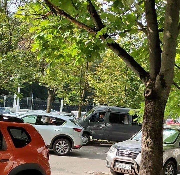 Авто білоруських силовиків