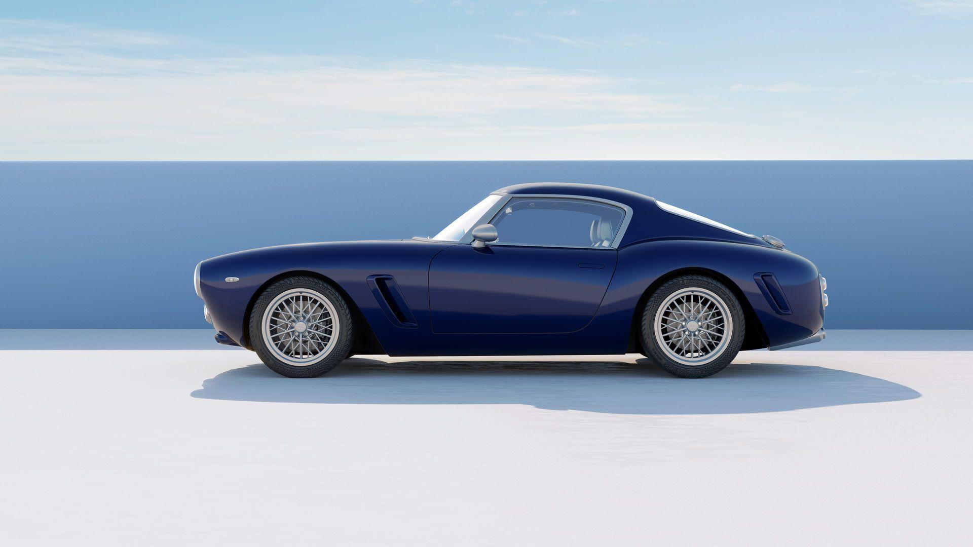 В основі новинки лежить шасі від сучасної моделі Ferrari 550 Maranello.