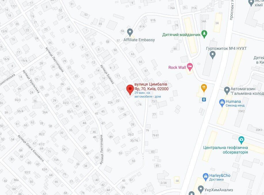 Инцидент произошел в частном секторе Голосеевского района.