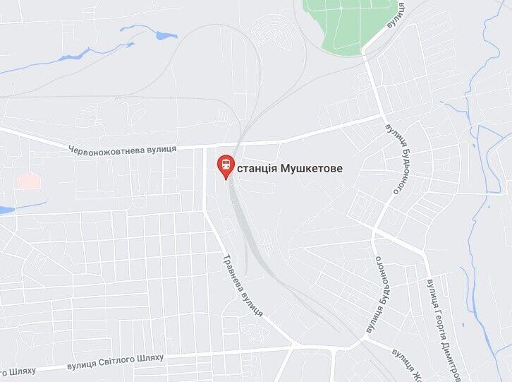 НП 16 липня трапилася в районі станції Мушкетове