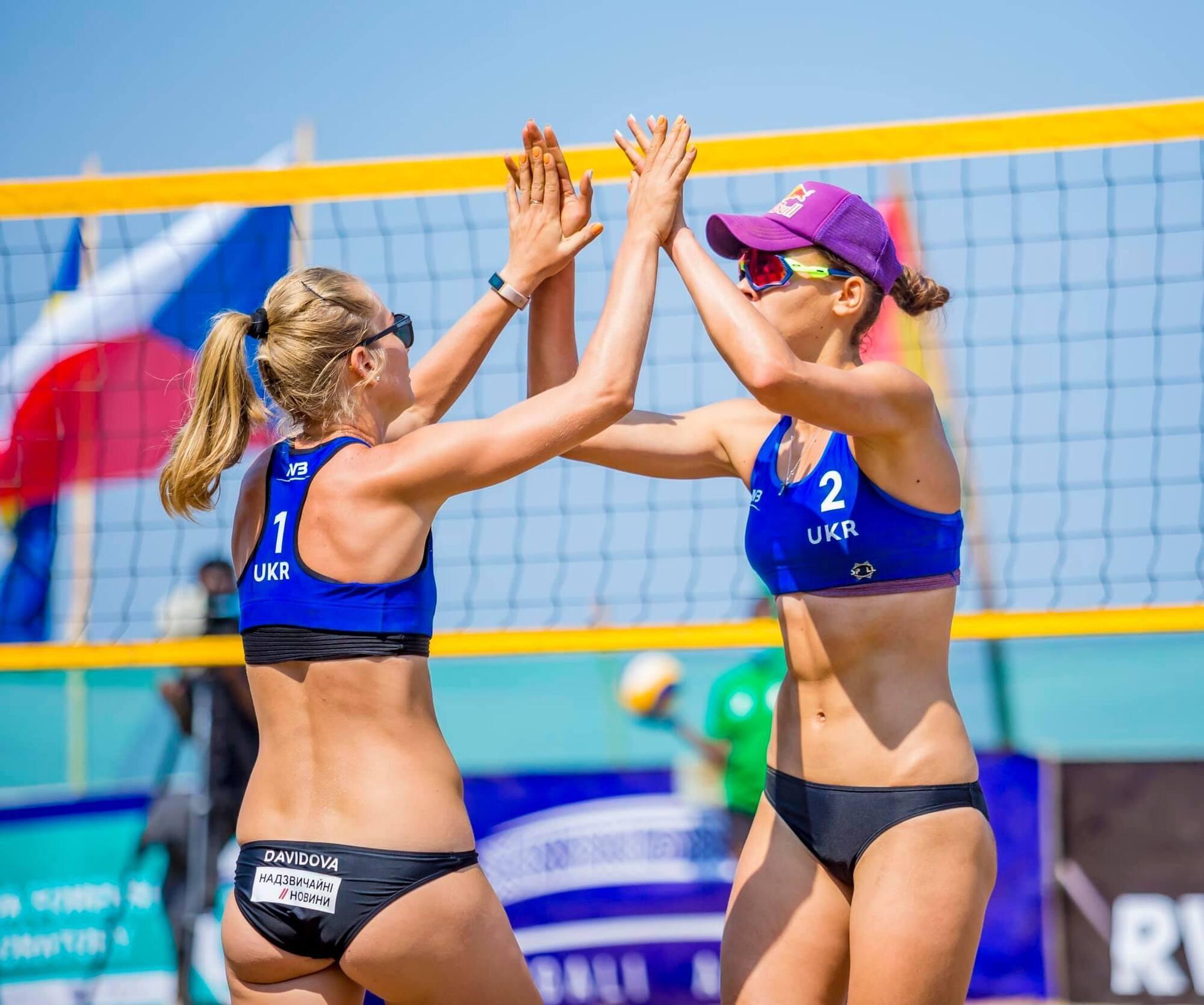 "Україна бореться за медалі ""FIVB Beach Volleyball World Tour Rubavu""."