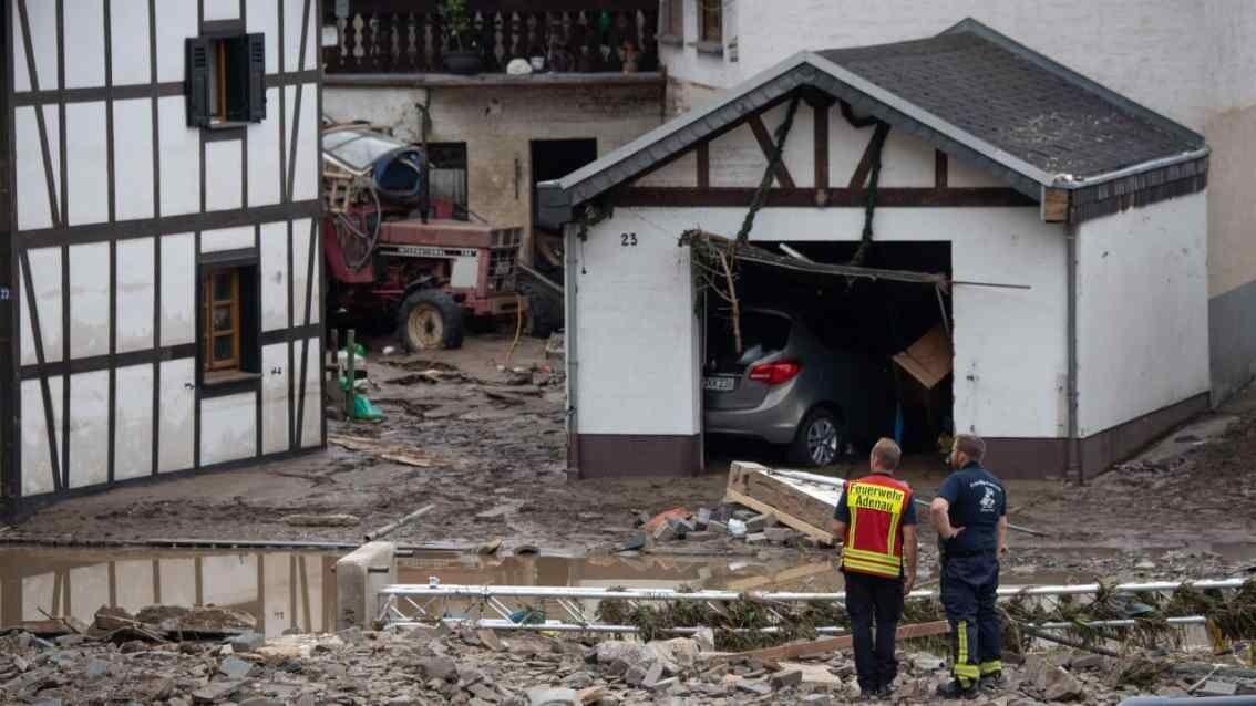 Будинки жителів Німеччини пошкоджено