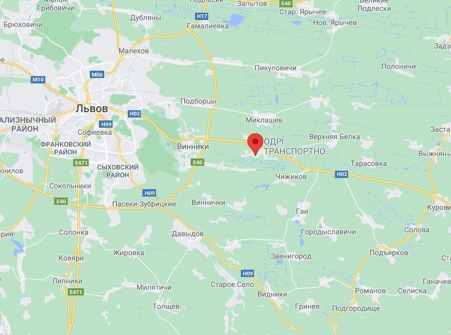 Аварія біля Львова.