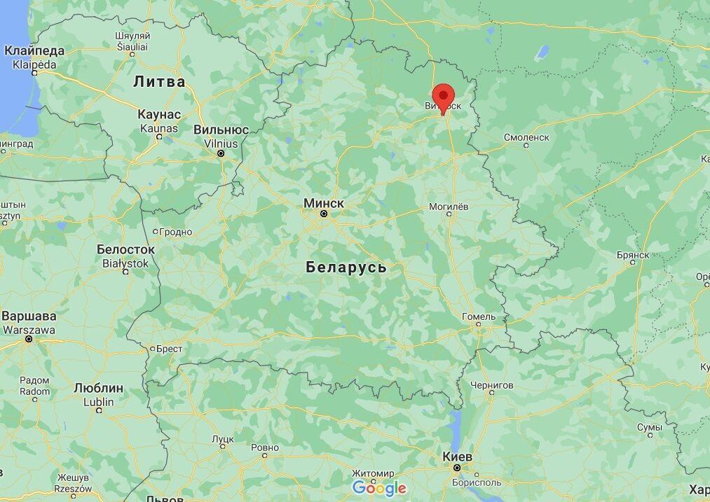 Нардеп приїхав у Вітебськ.