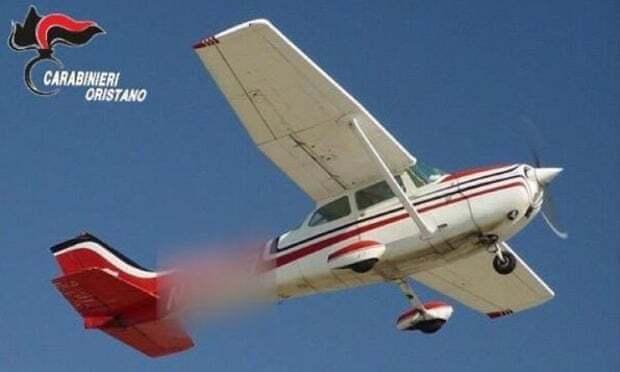 Літак зник з радарів перед тим, як викинути валізу.