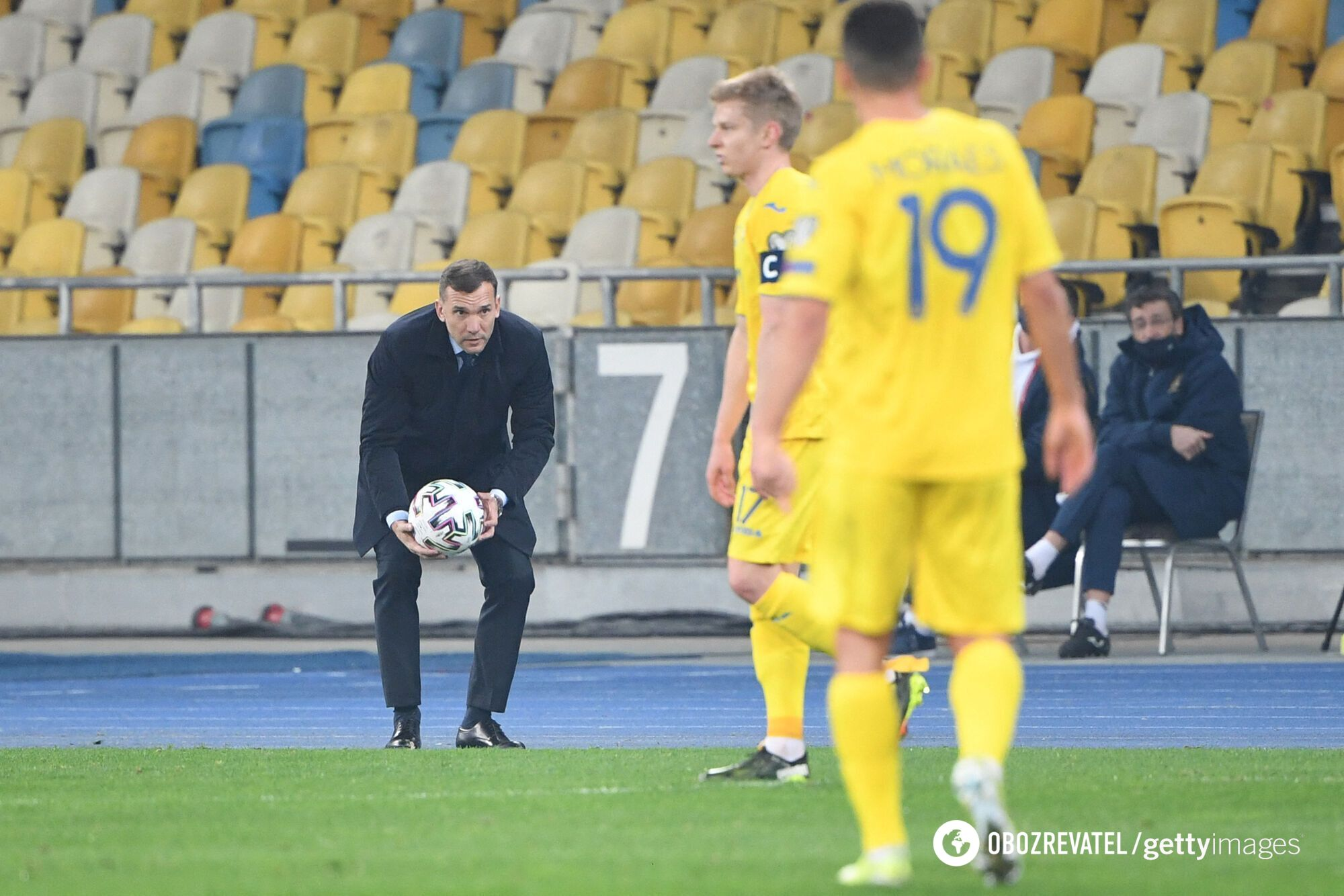 Андрей Шевченко, сборная Украины