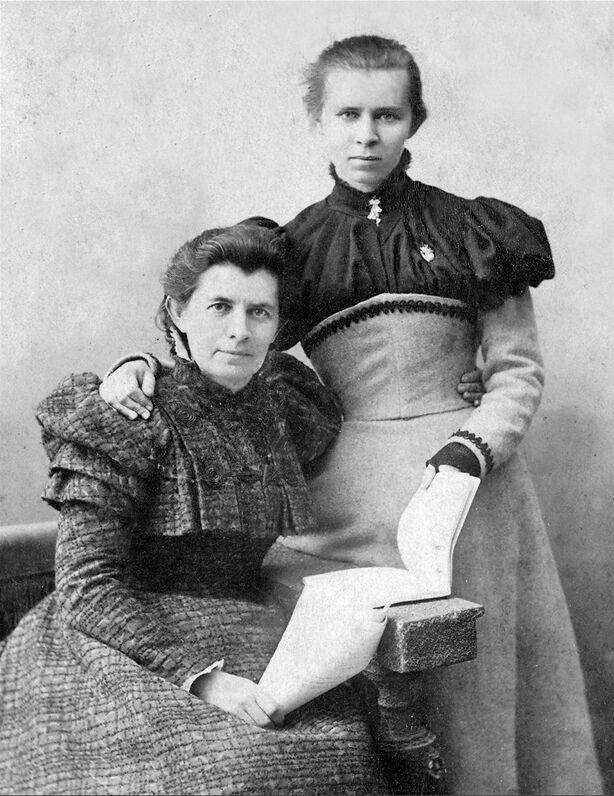 Олена Пчілка та Леся Українка, Ялта, 1898 рік