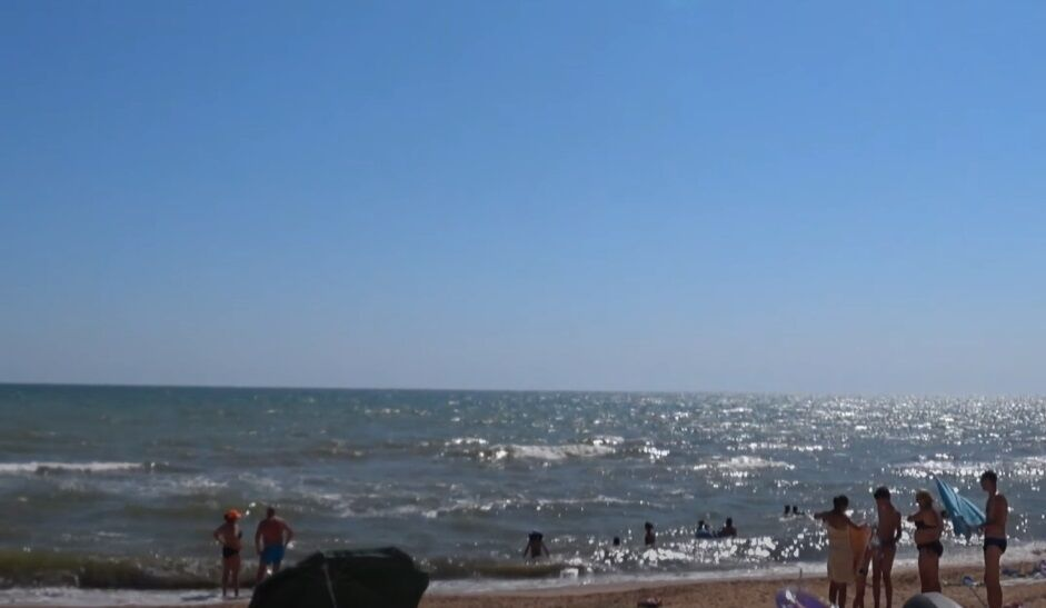 Пляж у Стрілковому.