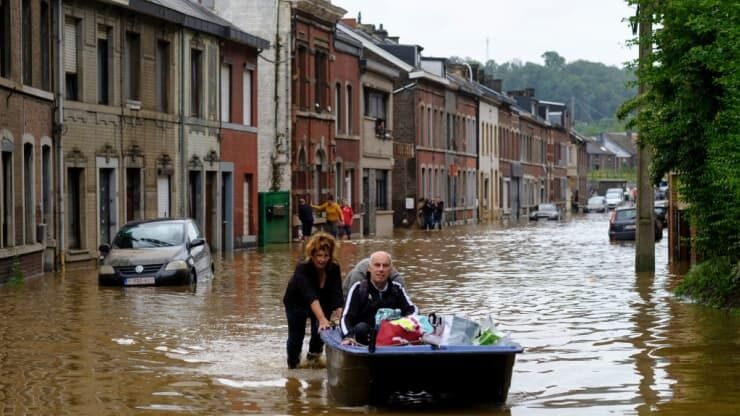 Потоп у Бельгії.