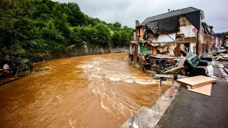 У Бельгії річки вийшли з берегів.