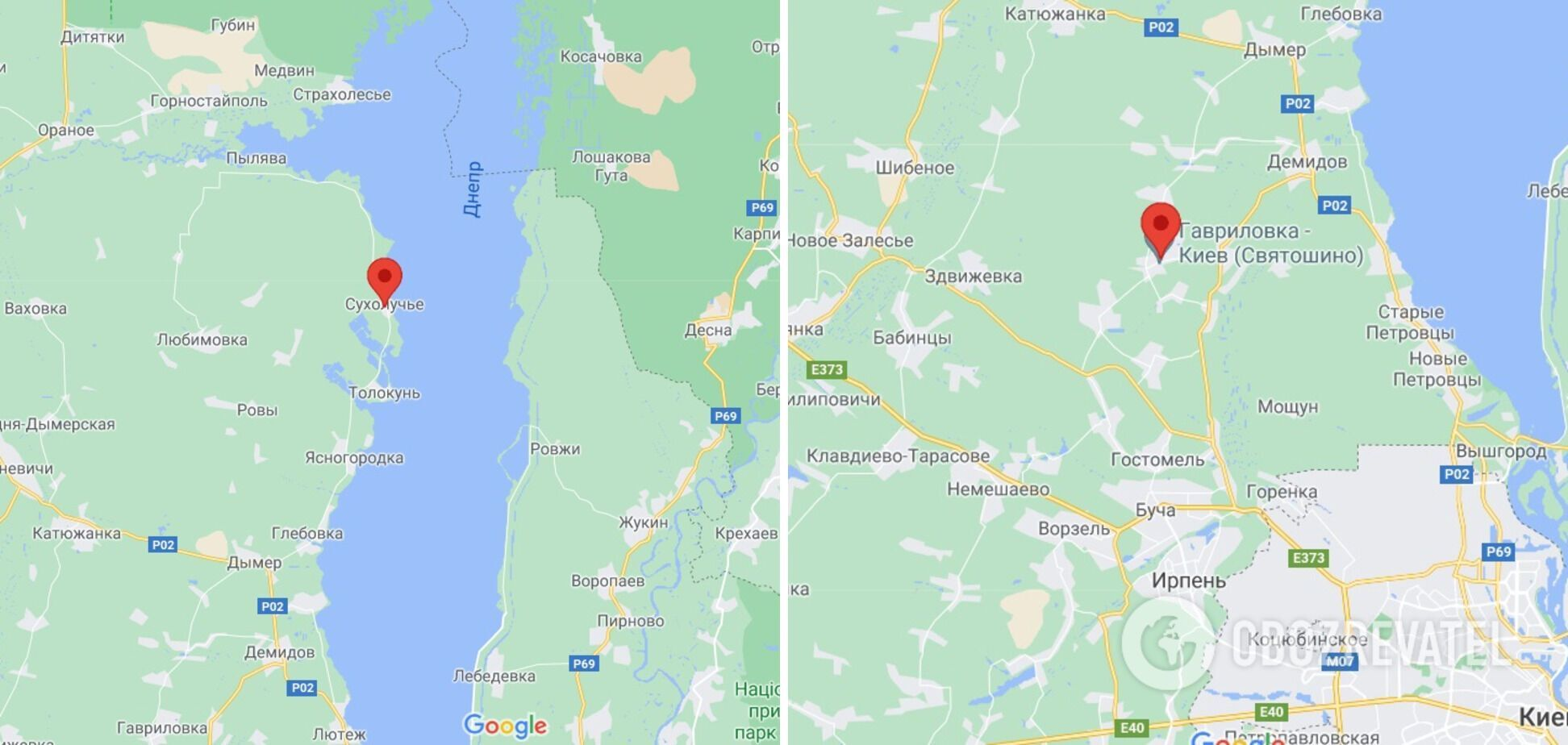 В двух селах на Киевщине людей убило деревьями.