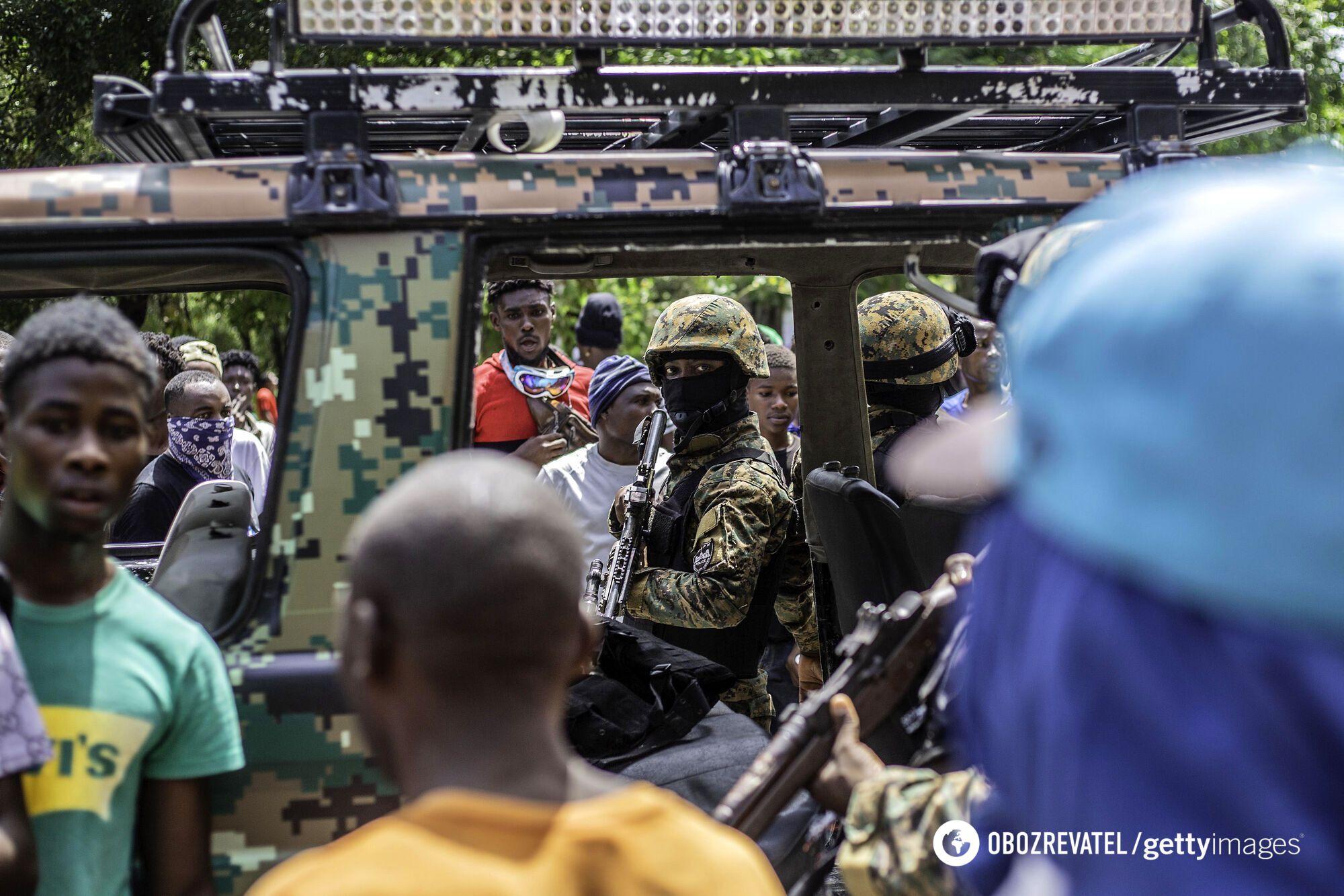 Протести в Республіці Гаїті після вбивства президента