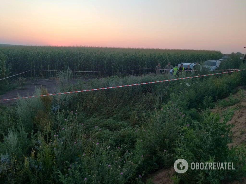Місце інциденту на кордоні