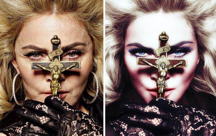 Мадонна хотела казаться моложе.