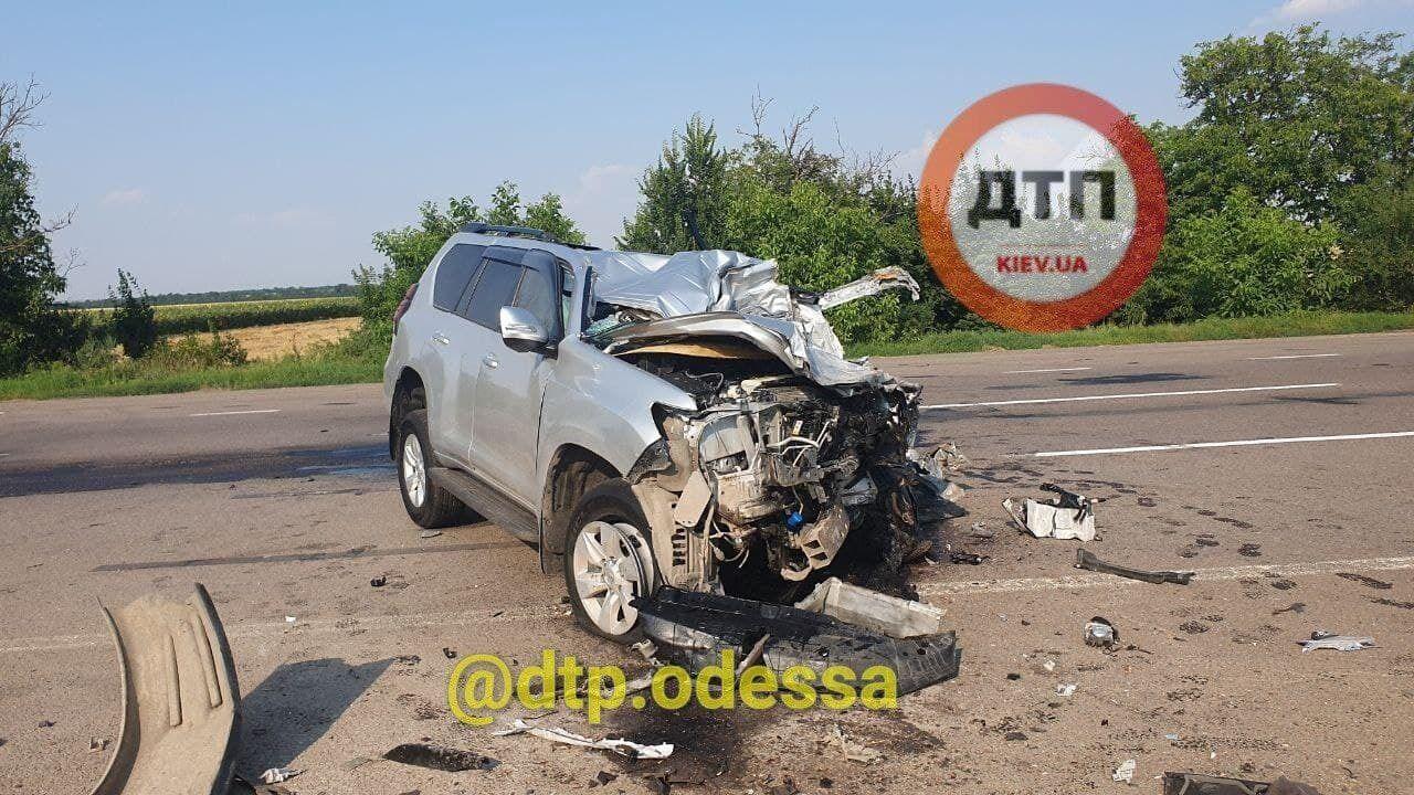 В ДТП под Одессой погиб 50-летний мужчина.