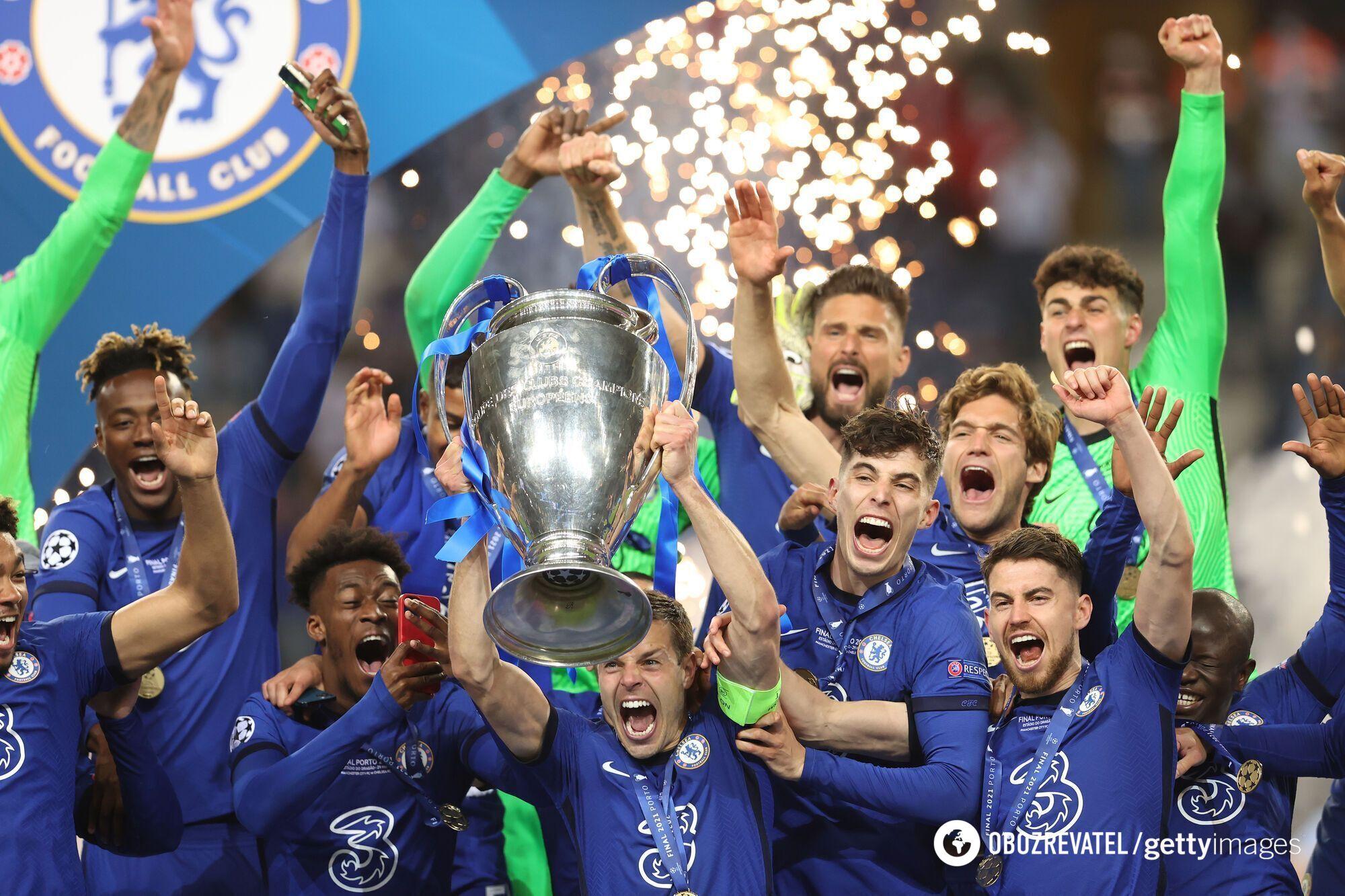 Челси выиграл Лигу чемпионов