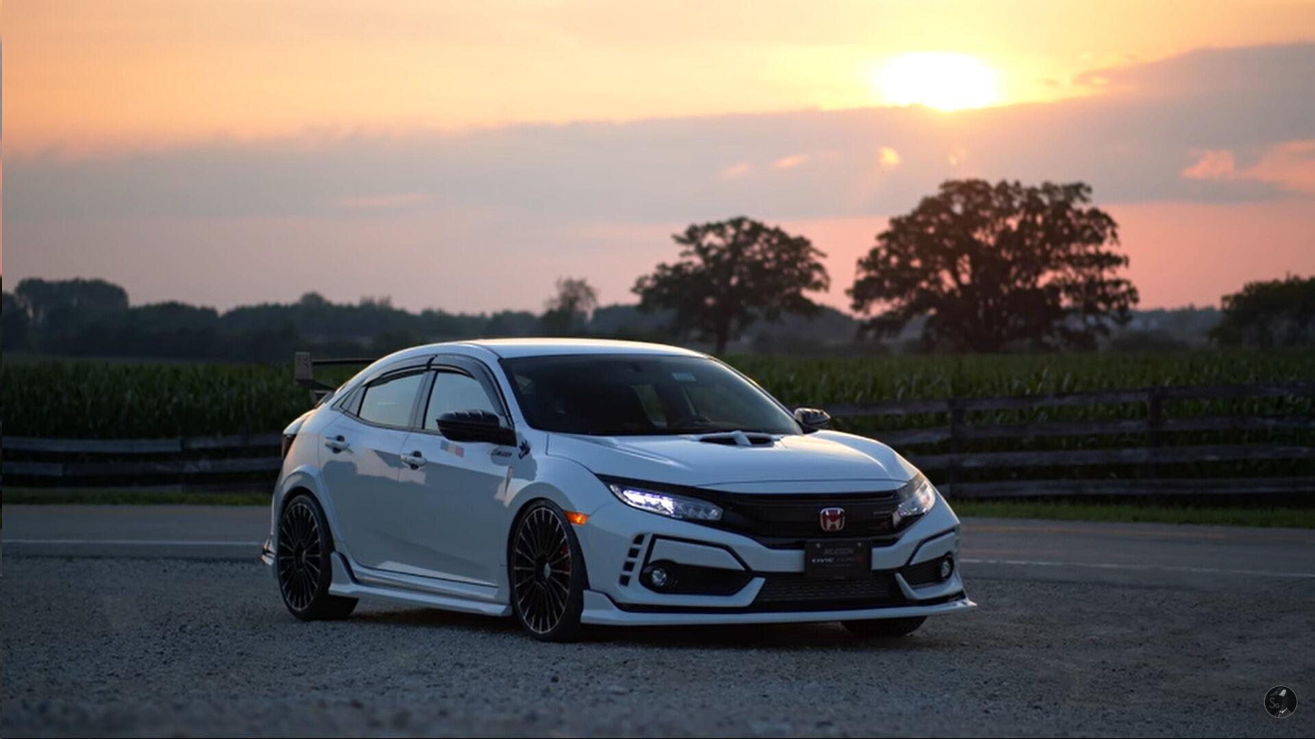 Honda Civic Type R – одна из любимых моделей для мастеров Mugen