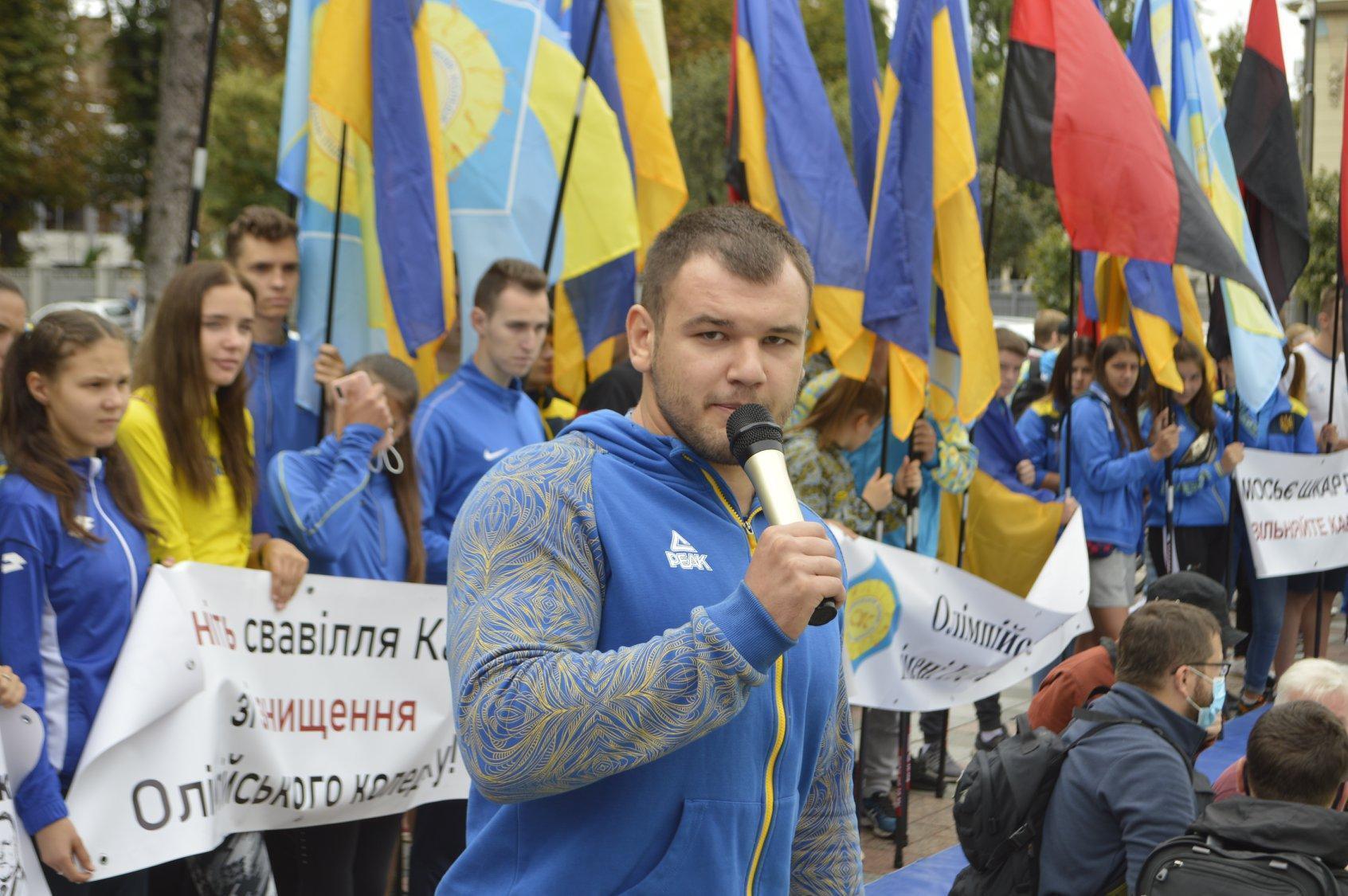 Богдан Грицай выступал за Олимпийский колледж имени Ивана Поддубного.