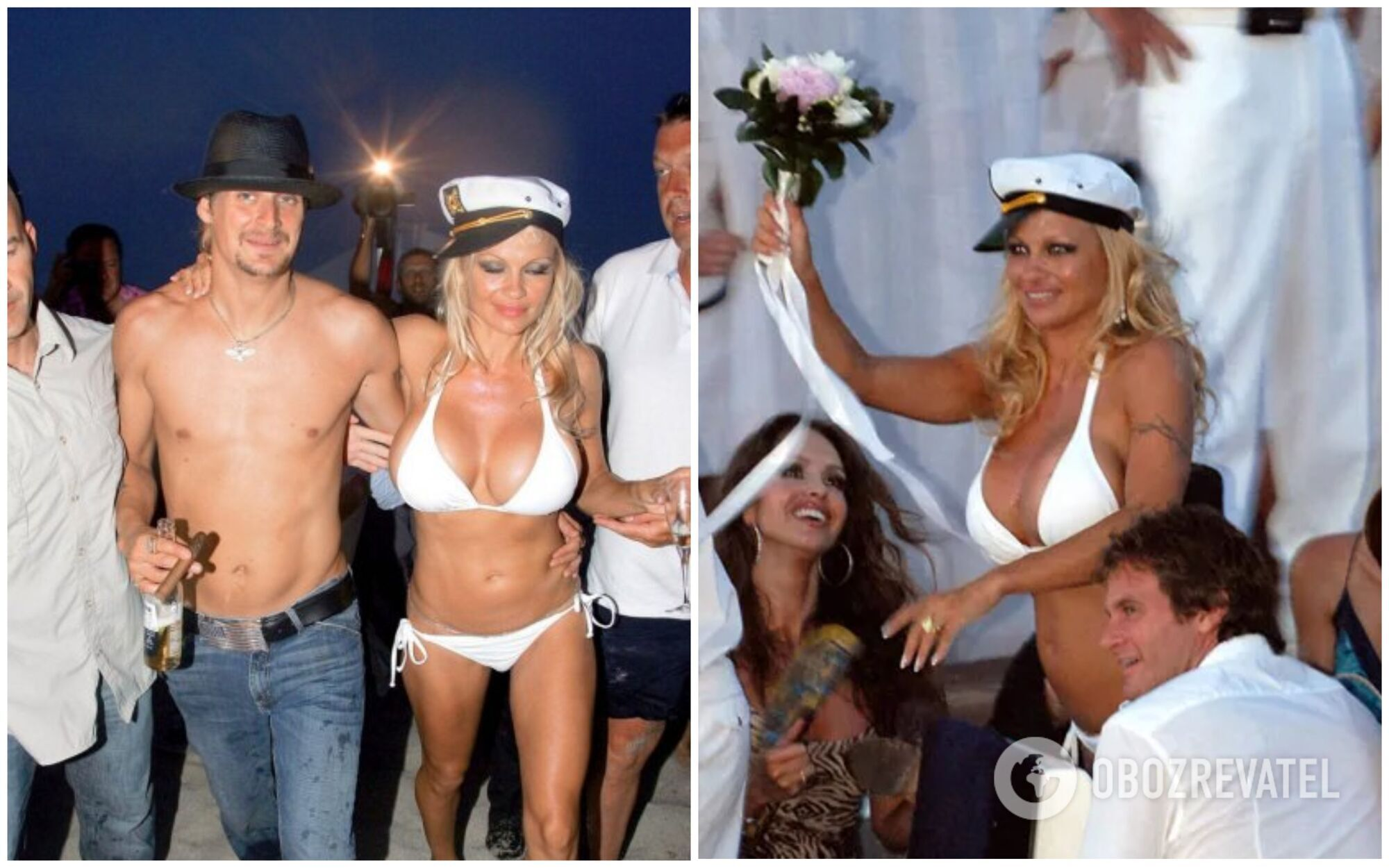 Свадьба Памелы Андерсен и музыканта Кида Рока