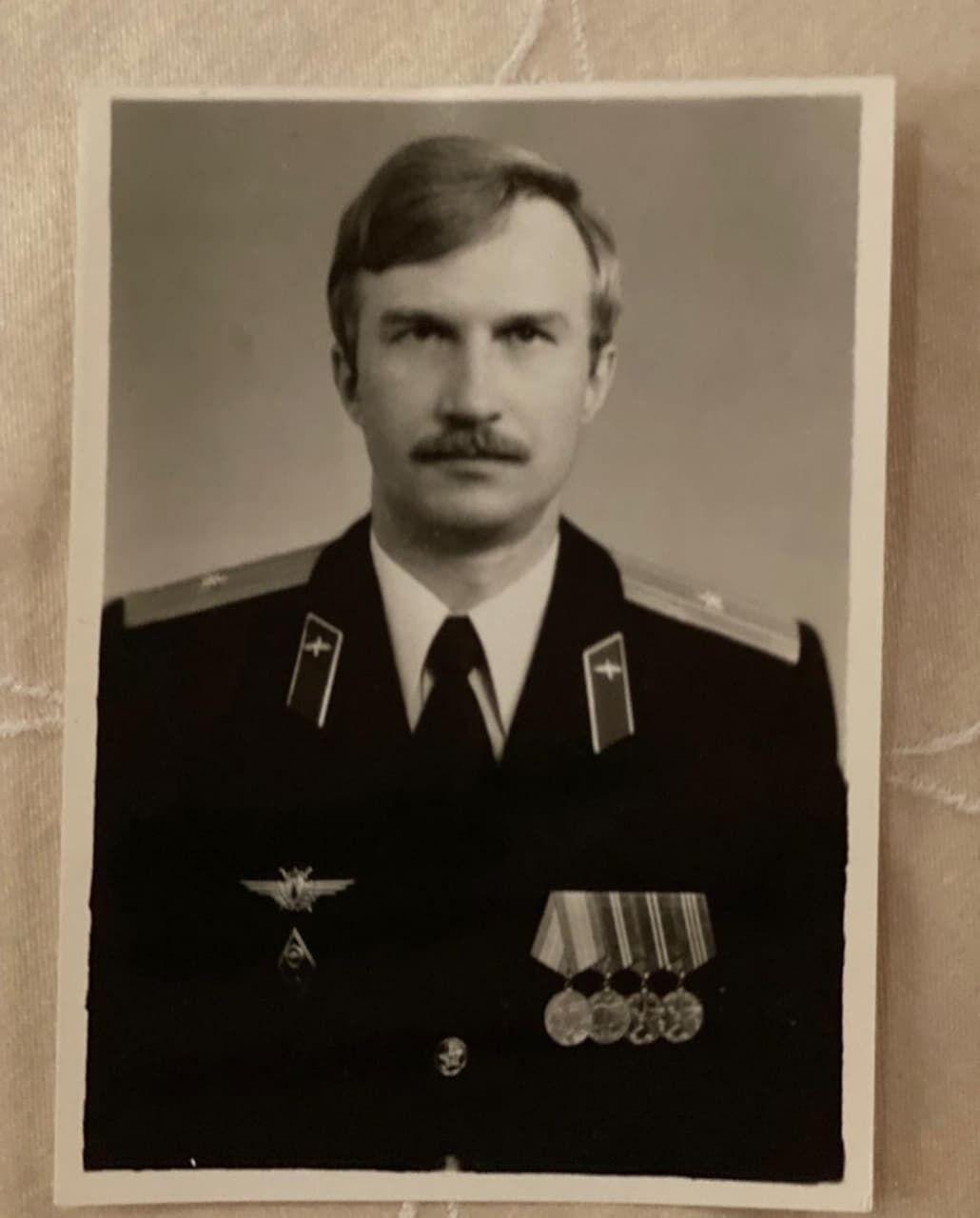 Отец Камалии в молодости.