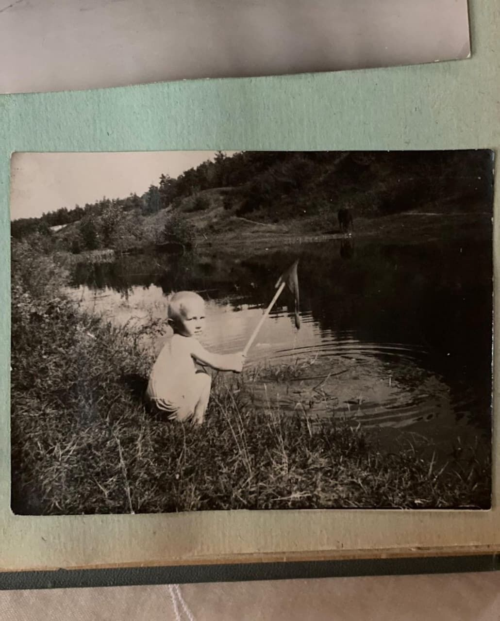 Отец Камалии на архивном фото.