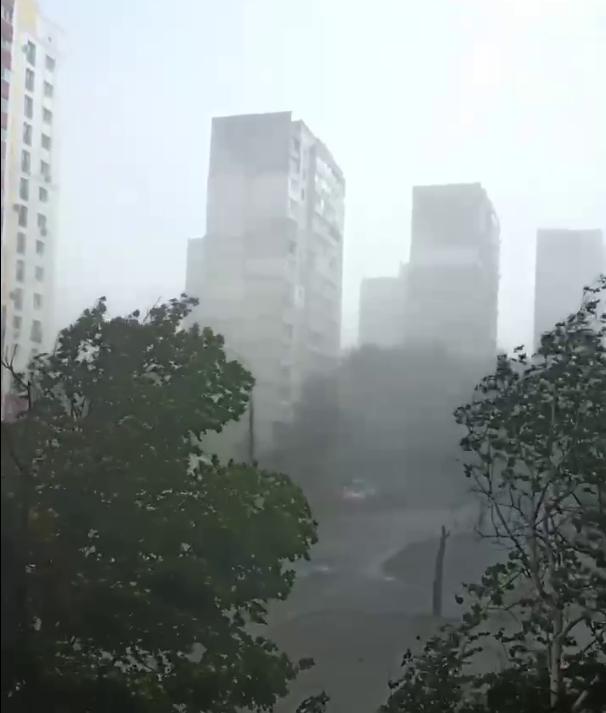 На Салтовке началась буря