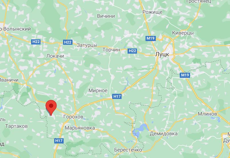 Аварія сталася у Волинській області.