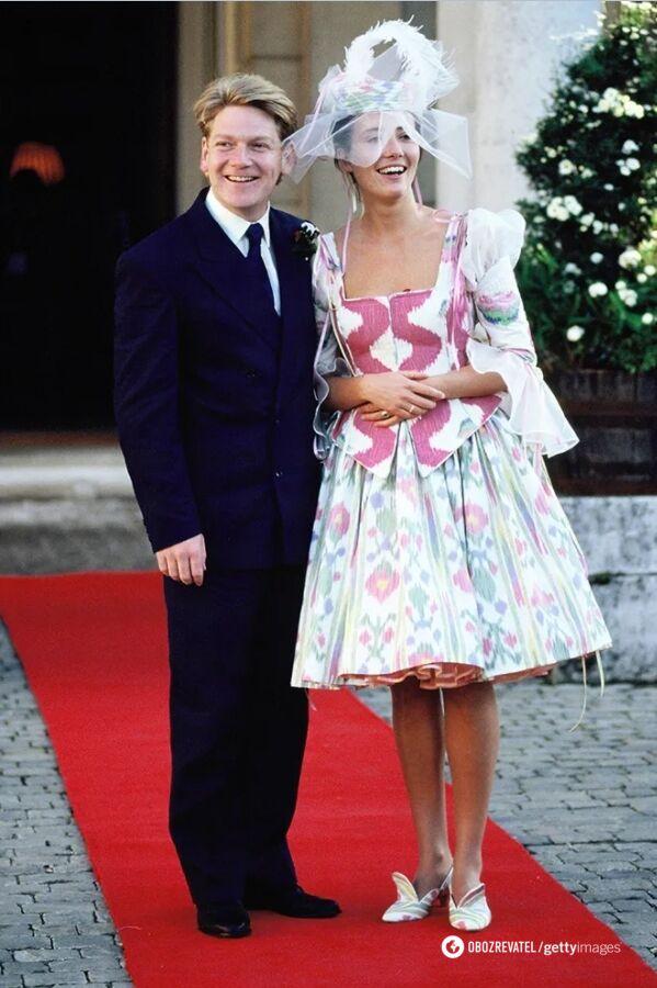Свадебное платье Эммы Томпсон в 1989 году