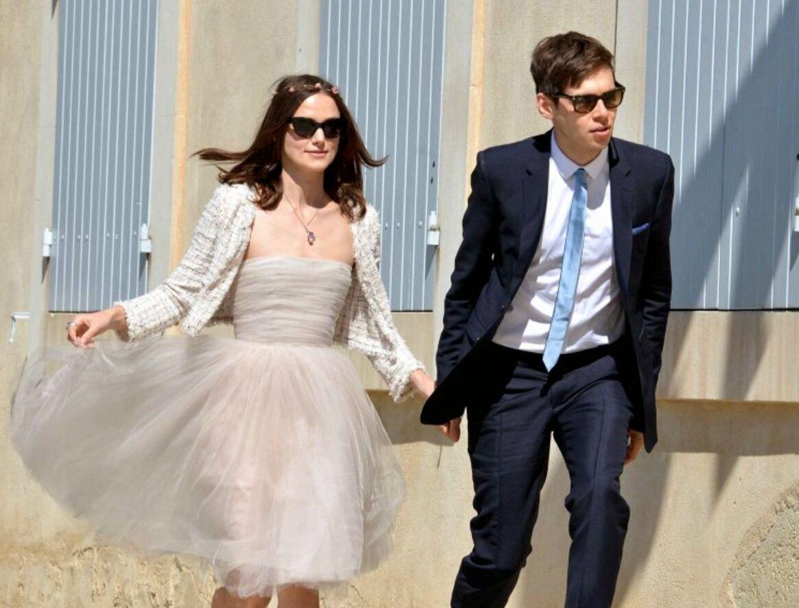 Свадебное платье Киры Найтли от бренда Rodarte