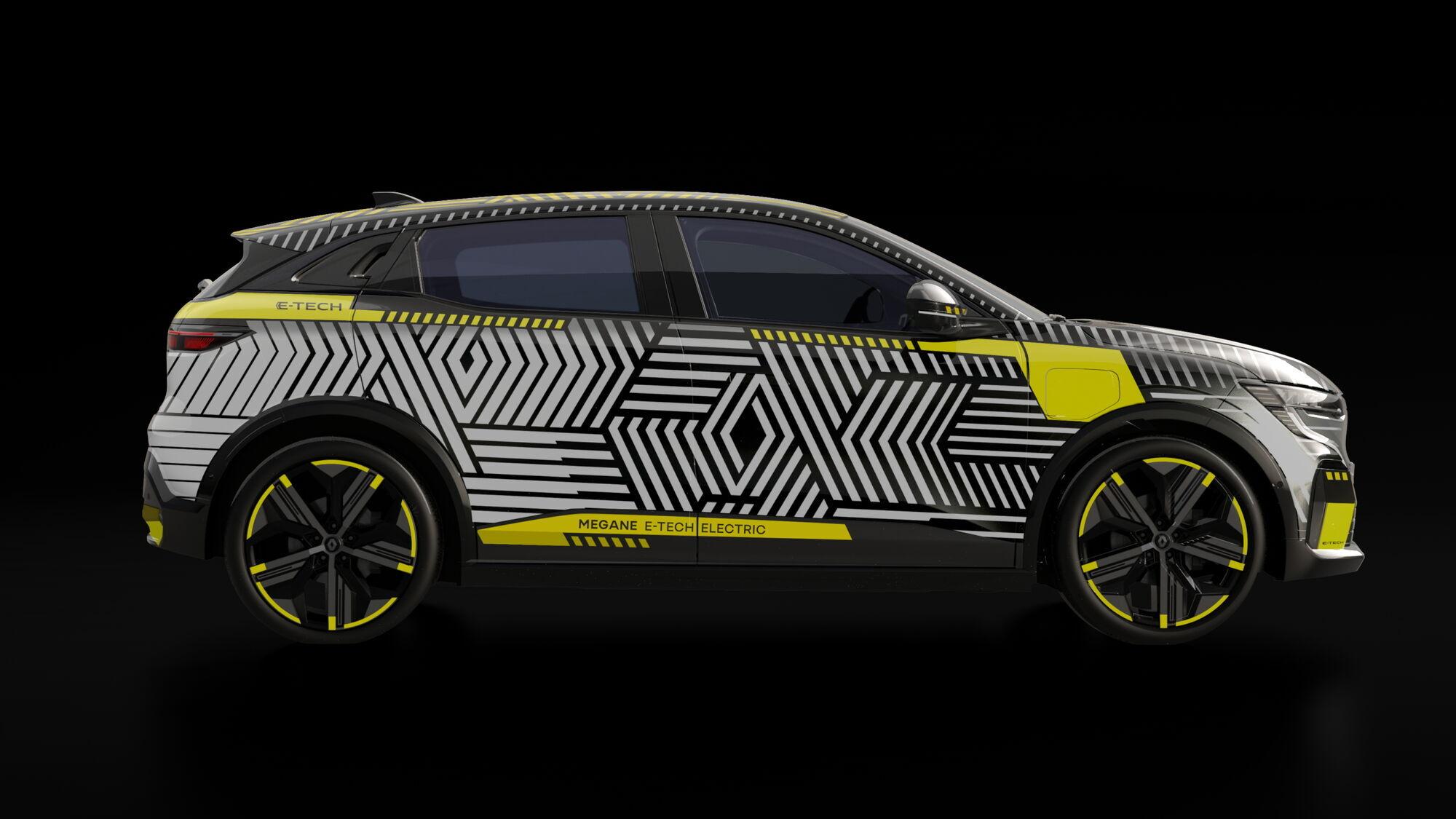 Первым в 2022 году в серию отправится электрическая версия популярного хэтчбека Renault MeganЕ