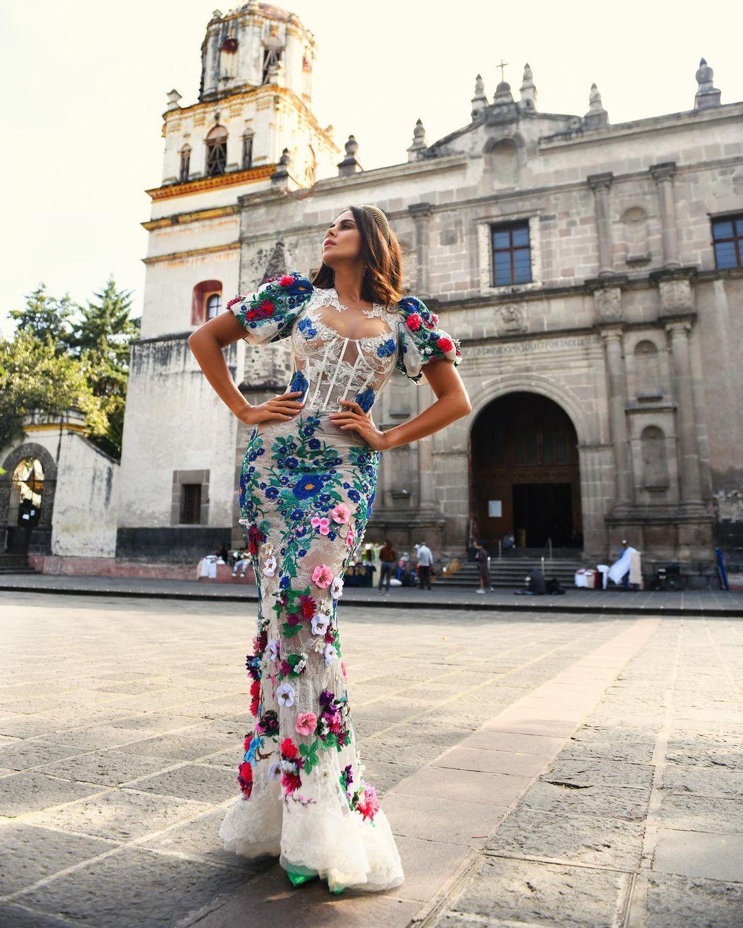 Каменських знялася в Мексиці