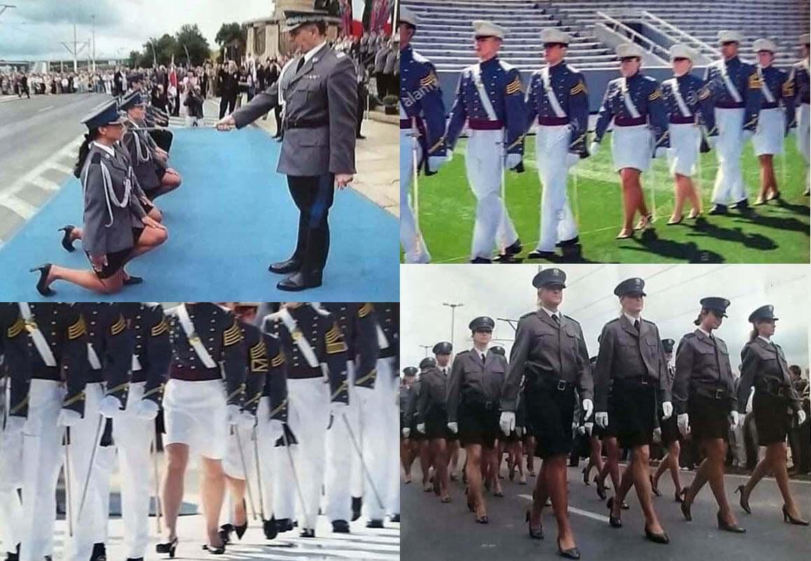 Форма жінок-військовослужбовців в інших країнах світу