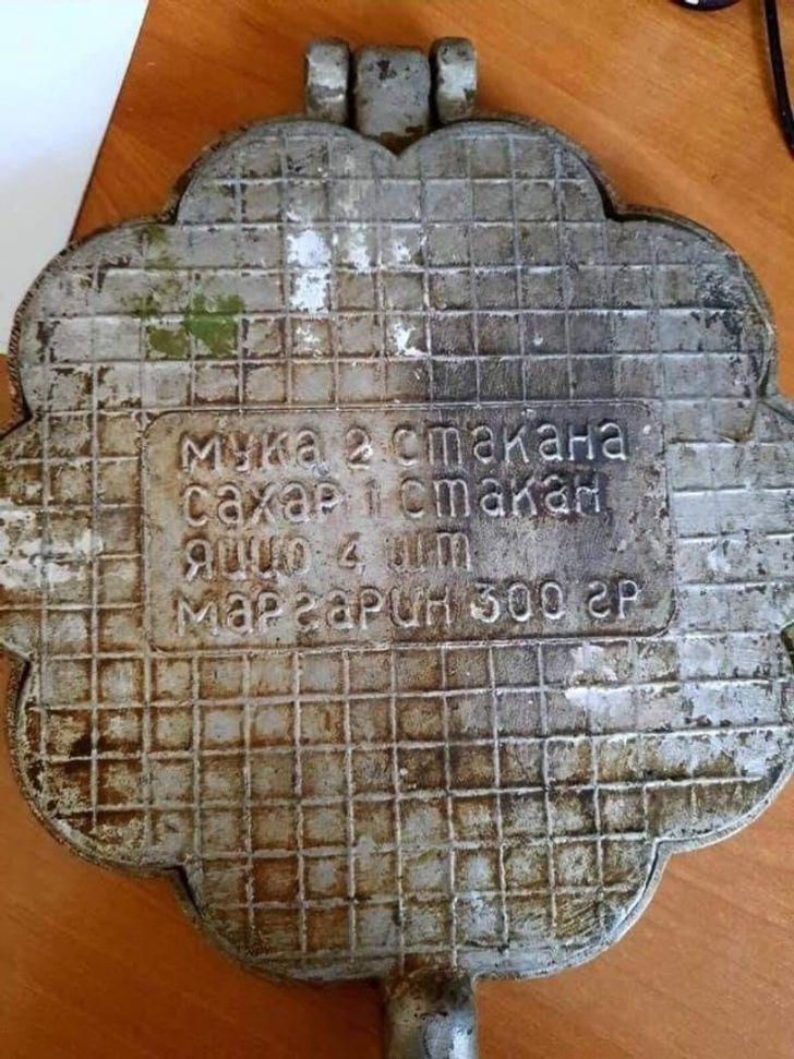 Форма для печенья, которая будет служить еще 100 лет.