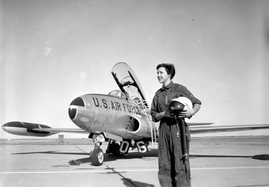 21-летняя Фанк в 1960 году