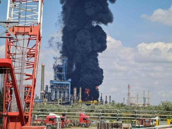 Вибух на нафтозаводі